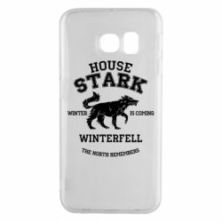 Чехол для Samsung S6 EDGE The North Remembers - House Stark