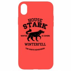 Чехол для iPhone XR The North Remembers - House Stark