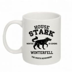 Кружка 320ml The North Remembers - House Stark - FatLine