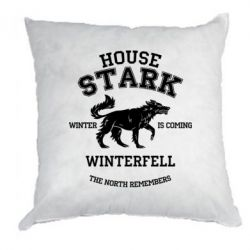 Подушка The North Remembers - House Stark - FatLine
