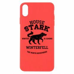 Чехол для iPhone X/Xs The North Remembers - House Stark