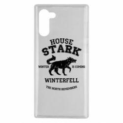 Чехол для Samsung Note 10 The North Remembers - House Stark