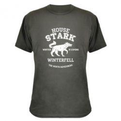 Камуфляжная футболка The North Remembers - House Stark
