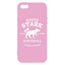 Чехол для iPhone5/5S/SE The North Remembers - House Stark