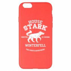 Чехол для iPhone 6 Plus/6S Plus The North Remembers - House Stark