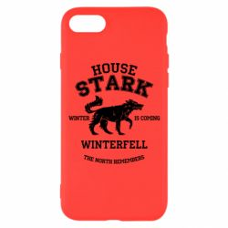 Чехол для iPhone 7 The North Remembers - House Stark