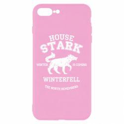 Чехол для iPhone 8 Plus The North Remembers - House Stark