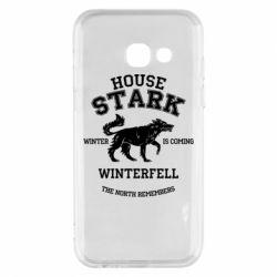 Чехол для Samsung A3 2017 The North Remembers - House Stark