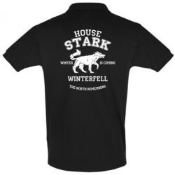 Футболка Поло The North Remembers - House Stark