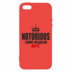 Купить Conor McGregor, Чехол для iPhone5/5S/SE The Notorious UFC, FatLine