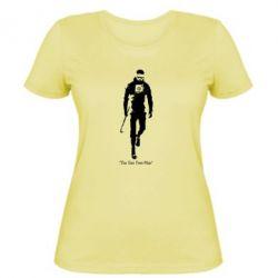 Женская футболка The one Free-Man