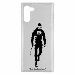 Чехол для Samsung Note 10 The one Free-Man
