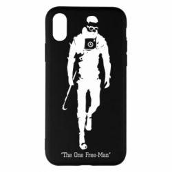 Чехол для iPhone X/Xs The one Free-Man