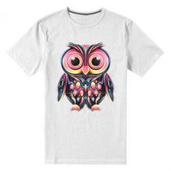 Мужская стрейчевая футболка The Owl