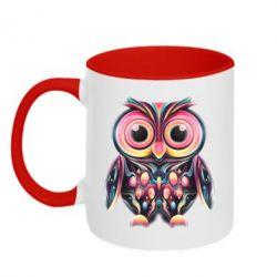 Кружка двухцветная The Owl