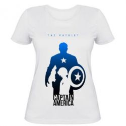 Женская футболка The Patriot