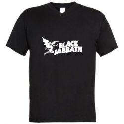 Мужская футболка  с V-образным вырезом The Polka Tulk Blues Band
