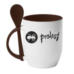 Кружка с керамической ложкой The Prodigy Evo