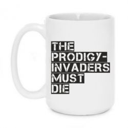 Кружка 420ml The Prodigy - Invaders Must Die