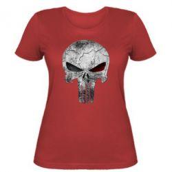 Женская футболка The Punisher Logo