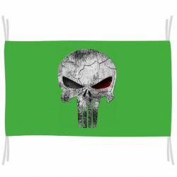 Флаг The Punisher Logo
