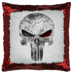 Подушка-хамелеон The Punisher Logo