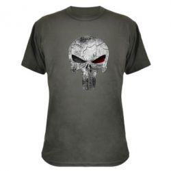 Камуфляжная футболка The Punisher Logo - FatLine