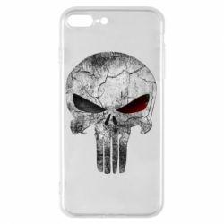 Чехол для iPhone 8 Plus The Punisher Logo