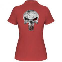 Женская футболка поло The Punisher Logo - FatLine