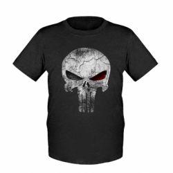 Детская футболка The Punisher Logo - FatLine