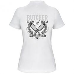 Жіноча футболка поло The Real Butcher