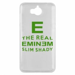 Чехол для Huawei Y5 2017 The Real Slim Shady - FatLine