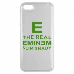 Чехол для Huawei Y5 2018 The Real Slim Shady - FatLine