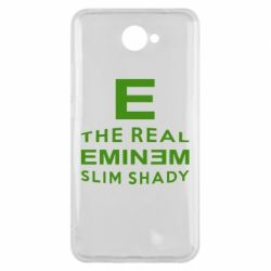 Чехол для Huawei Y7 2017 The Real Slim Shady - FatLine