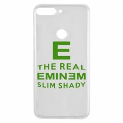 Чехол для Huawei Y7 Prime 2018 The Real Slim Shady - FatLine