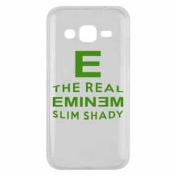 Чехол для Samsung J2 2015 The Real Slim Shady - FatLine