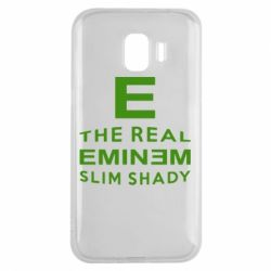 Чехол для Samsung J2 2018 The Real Slim Shady - FatLine