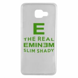 Чехол для Samsung A7 2016 The Real Slim Shady - FatLine