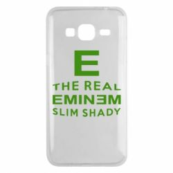 Чехол для Samsung J3 2016 The Real Slim Shady - FatLine