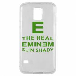 Чехол для Samsung S5 The Real Slim Shady - FatLine