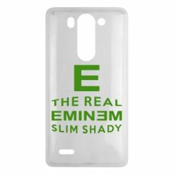 Чехол для LG G3 mini/G3s The Real Slim Shady - FatLine