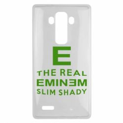 Чехол для LG G4 The Real Slim Shady - FatLine