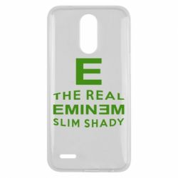 Чехол для LG K10 2017 The Real Slim Shady - FatLine