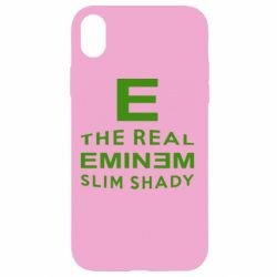 Чехол для iPhone XR The Real Slim Shady - FatLine