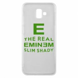 Чехол для Samsung J6 Plus 2018 The Real Slim Shady - FatLine
