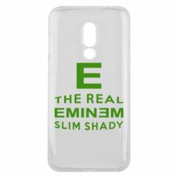 Чехол для Meizu 16 The Real Slim Shady - FatLine