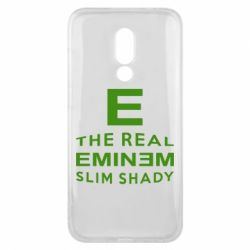 Чехол для Meizu 16x The Real Slim Shady - FatLine