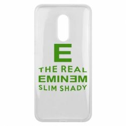 Чехол для Meizu 16 plus The Real Slim Shady - FatLine