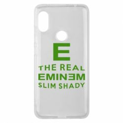 Чехол для Xiaomi Redmi Note 6 Pro The Real Slim Shady - FatLine
