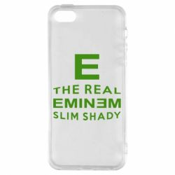 Чехол для iPhone5/5S/SE The Real Slim Shady - FatLine